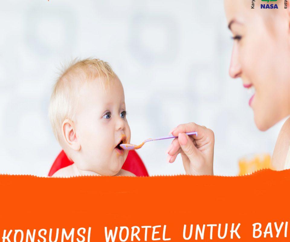Manfaat Wortel untuk Bayi