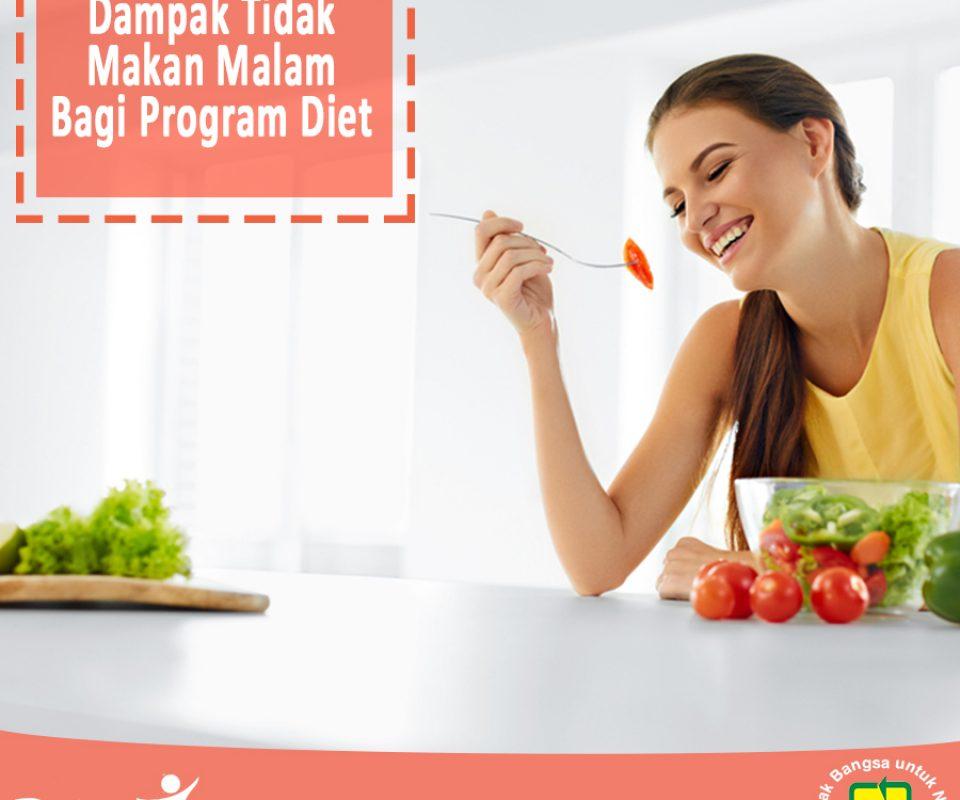 Dampak tidak makan malam bagi program diet
