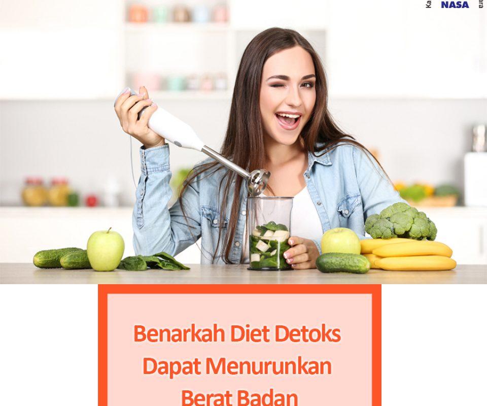 Diet Detoks Dapat Menurunkan Berat Badan