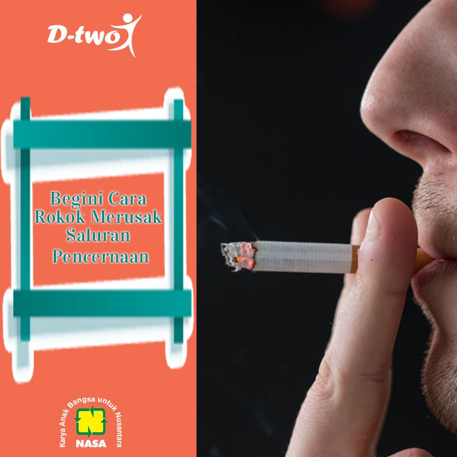 Begini Cara Rokok Merusak Saluran Pencernaan