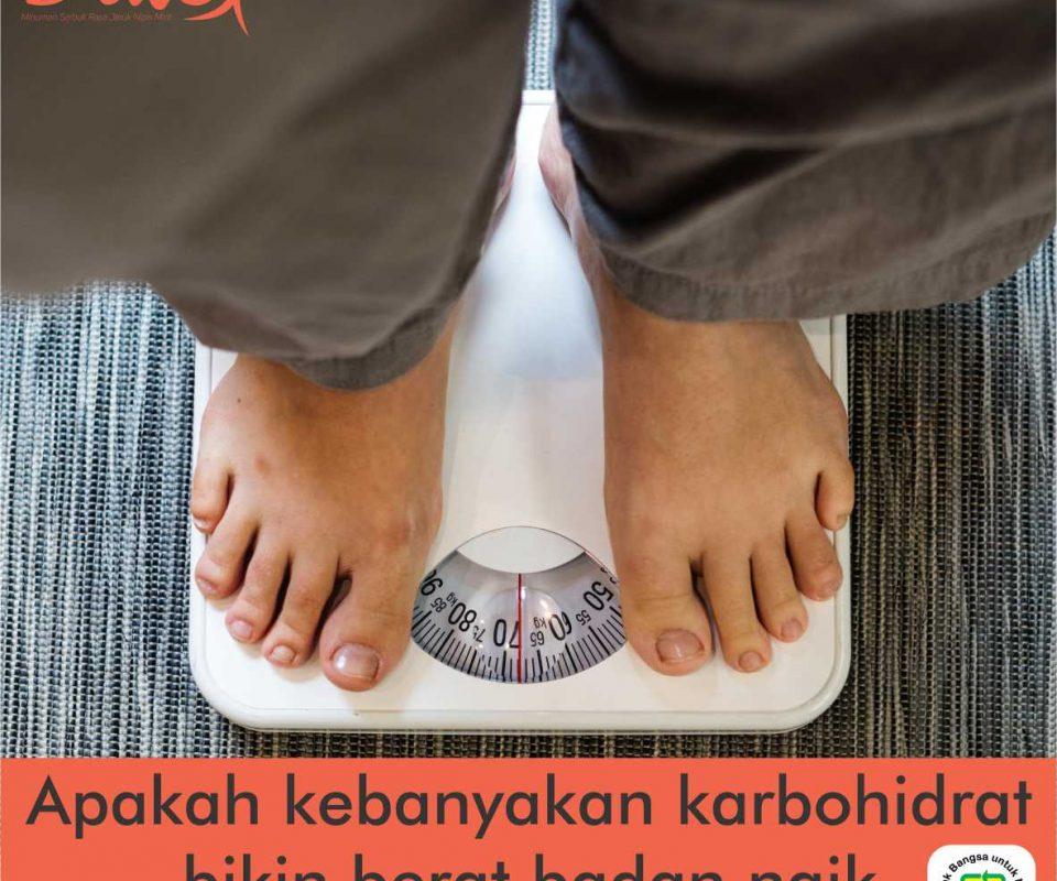 Karbohidrat menyebabkan gemuk