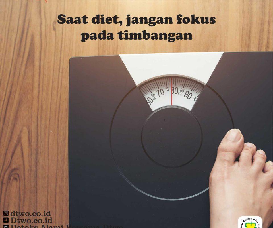 Jangan Fokus Pada Timbangan Saat Menjalankan Diet