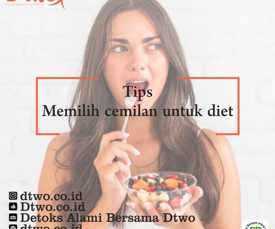 Memilih Camilan Untuk Diet