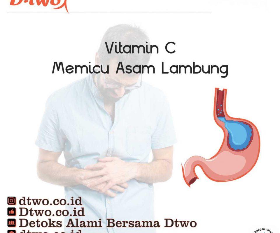Vitamin C Memicu Asam Lambung