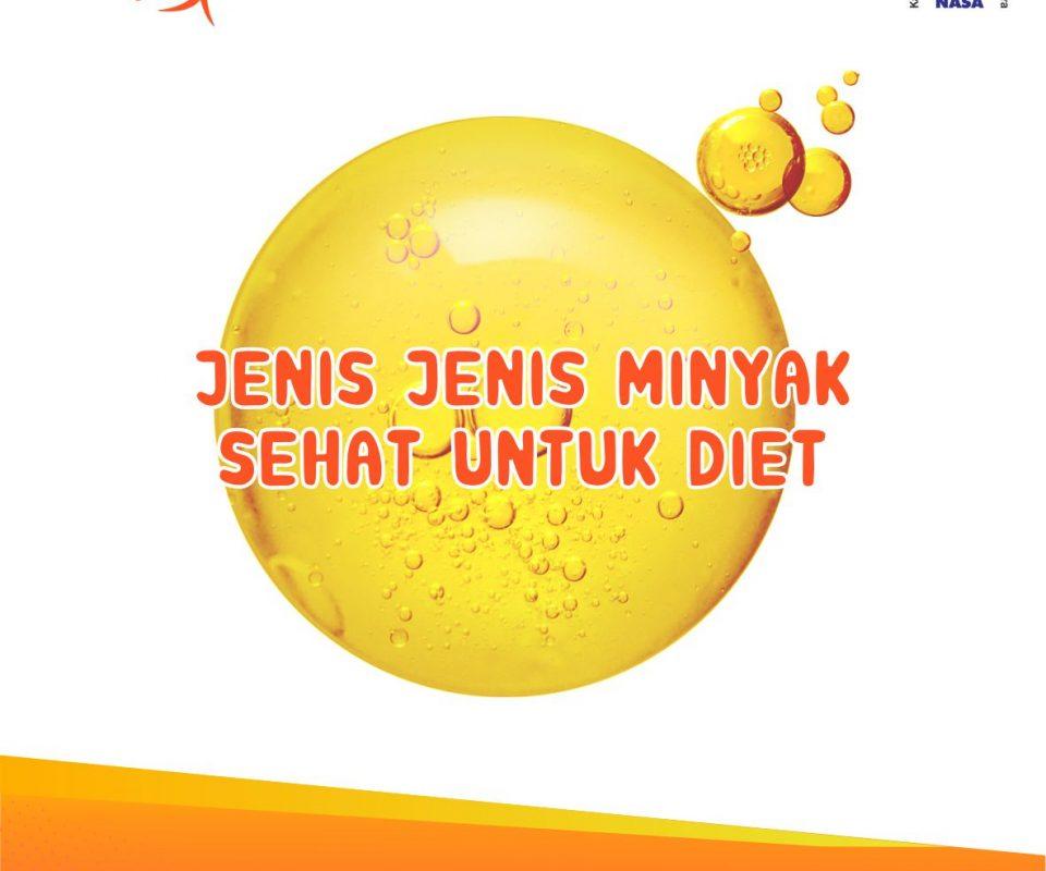 JENIS-JENIS MINYAK SEHAT UNTUK DIET