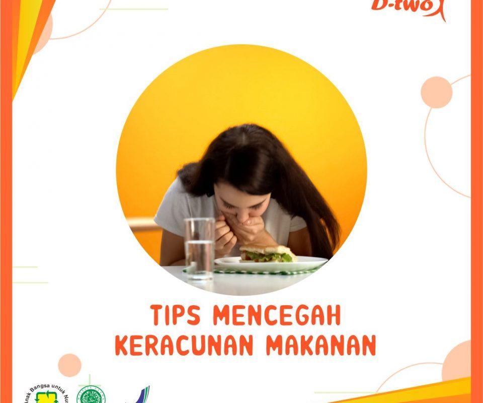 TIPS MENCEGAH KERACUNAN MAKANAN