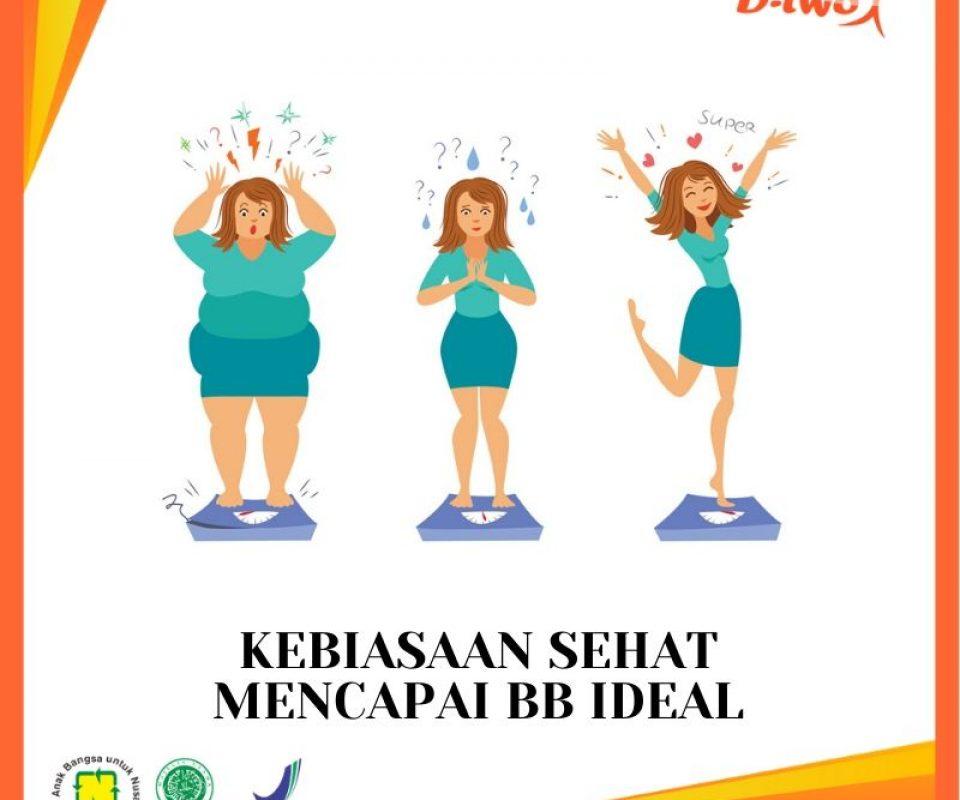 Kebiasaan Sehat untuk Mencapai Berat Badan Ideal