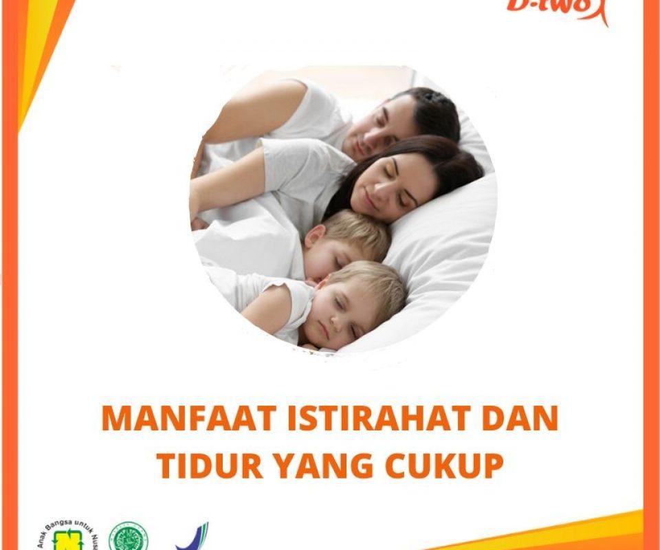 Manfaat Istirahat dan Tidur yang Cukup