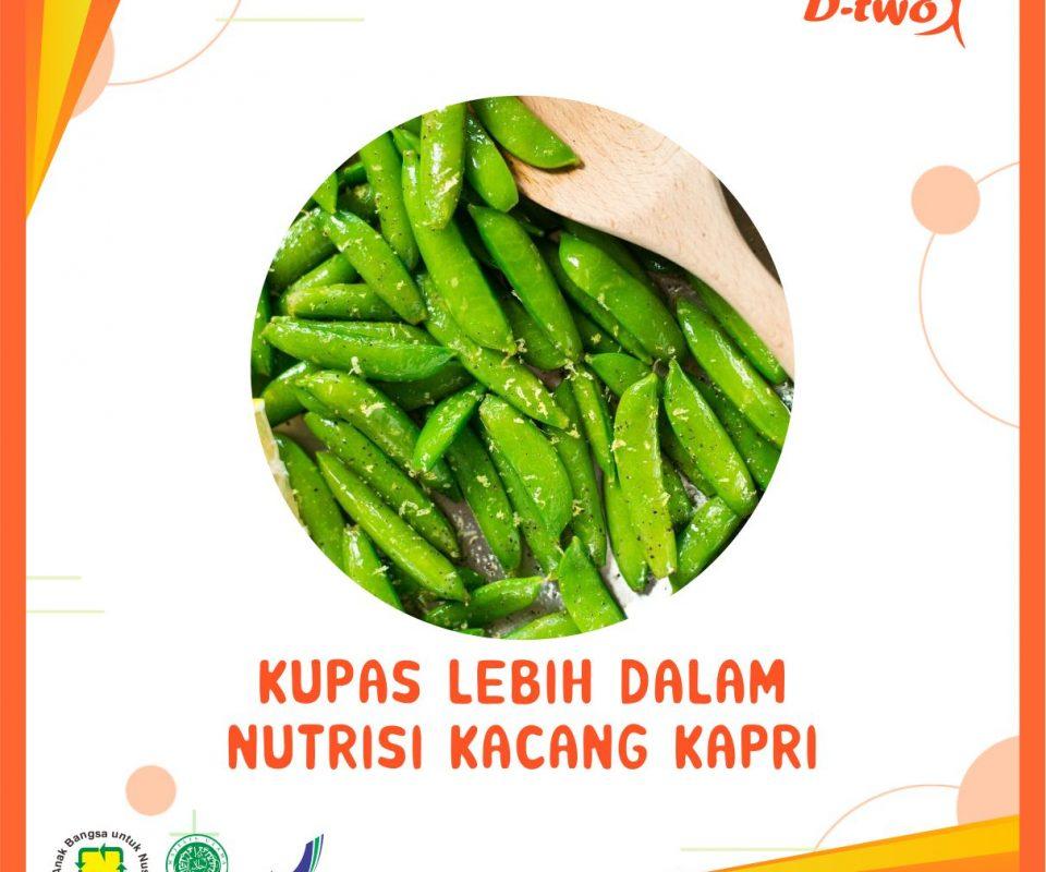 Kupas Lebih Dalam Kandungan Nutrisi Kacang Kapri