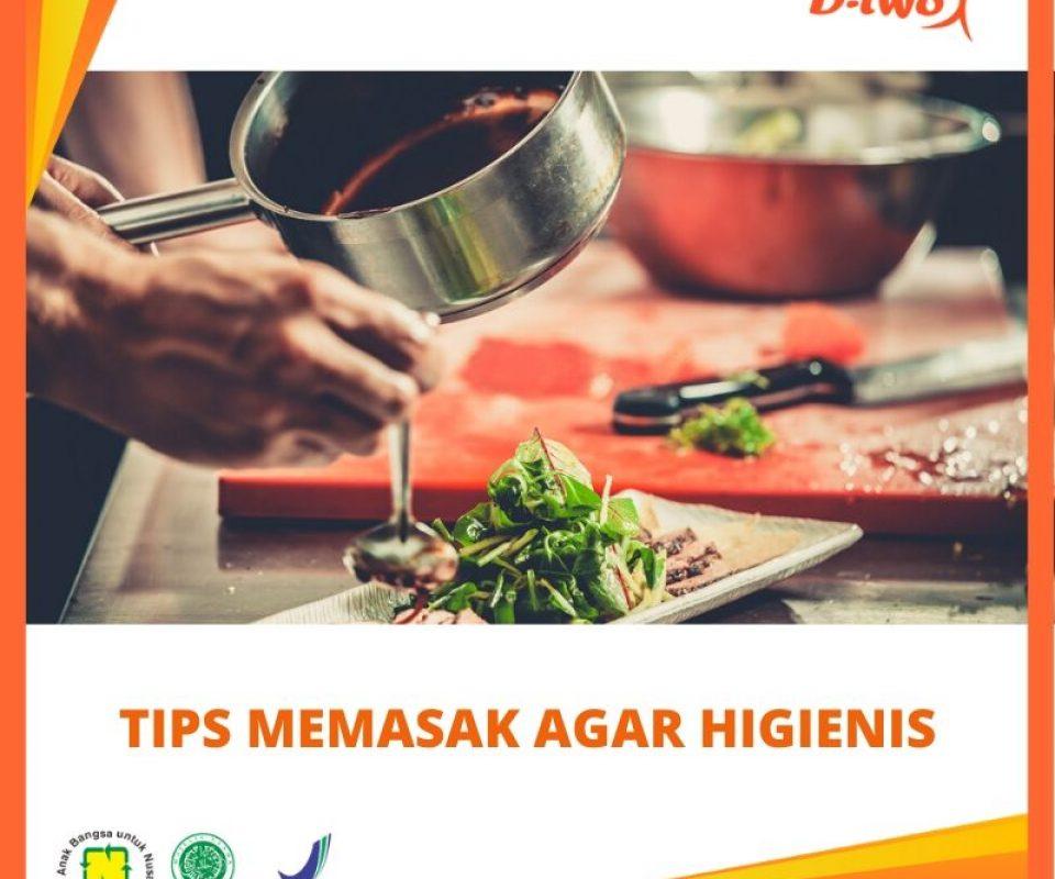 Tips Memasak Agar Tetap Higienis